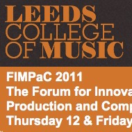 AJ | Code | Futures EP | Jansch to present at FIMPaC 2011